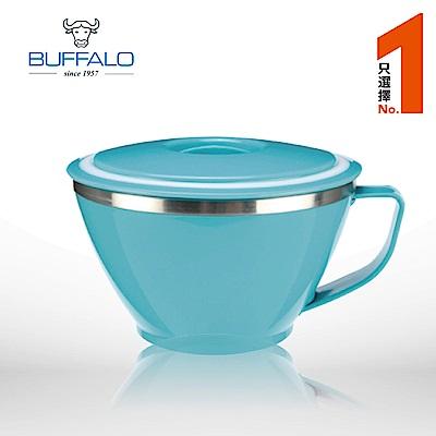 牛頭牌 粉彩隔熱杯碗 620cc (藍色)