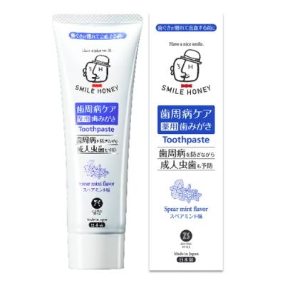 日本 Zettoc SmileHoney 熟齡滋養牙膏-薄荷涼 120g