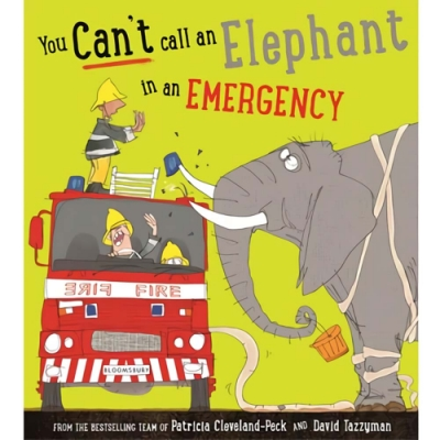 You Can t Call An Elephant In An Emergency 動物救援平裝繪本