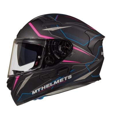 MTHELMETS MT安全帽 KREsv INTREPID系列 C2 消光黑粉