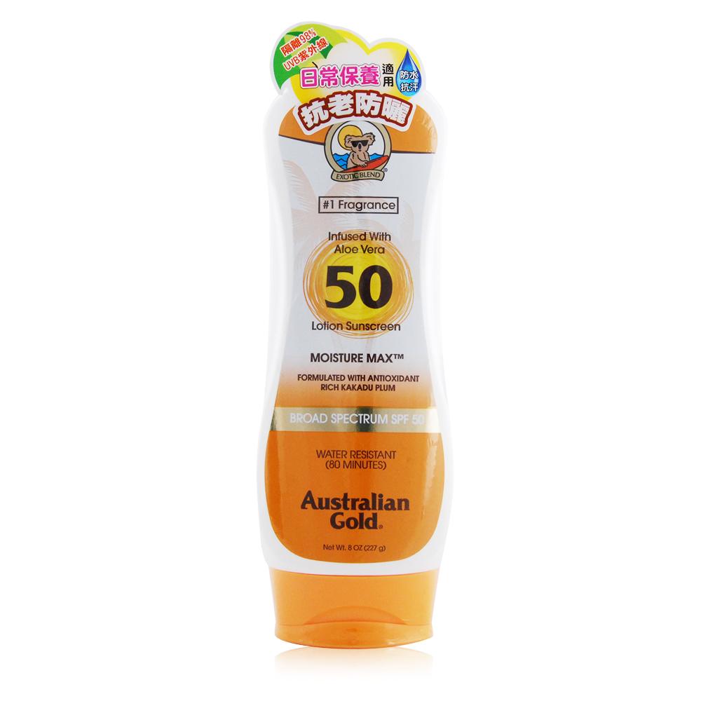 Australian Gold金色澳洲 抗老長效防曬乳液SPF50 8oz/237ml