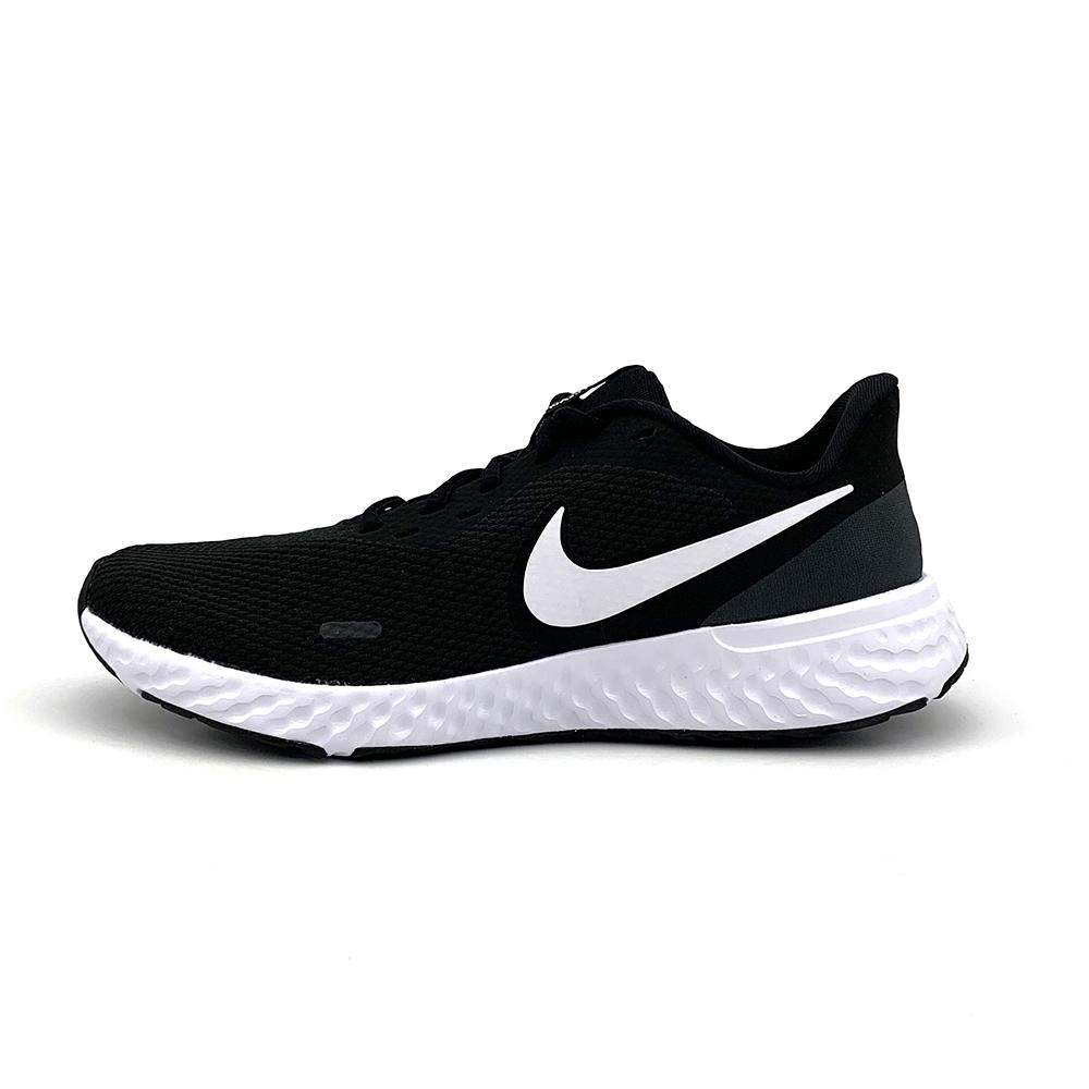 NIKE 慢跑鞋  路跑 休閒 運動鞋 男 黑 BQ3204002 REVOLUTION 5