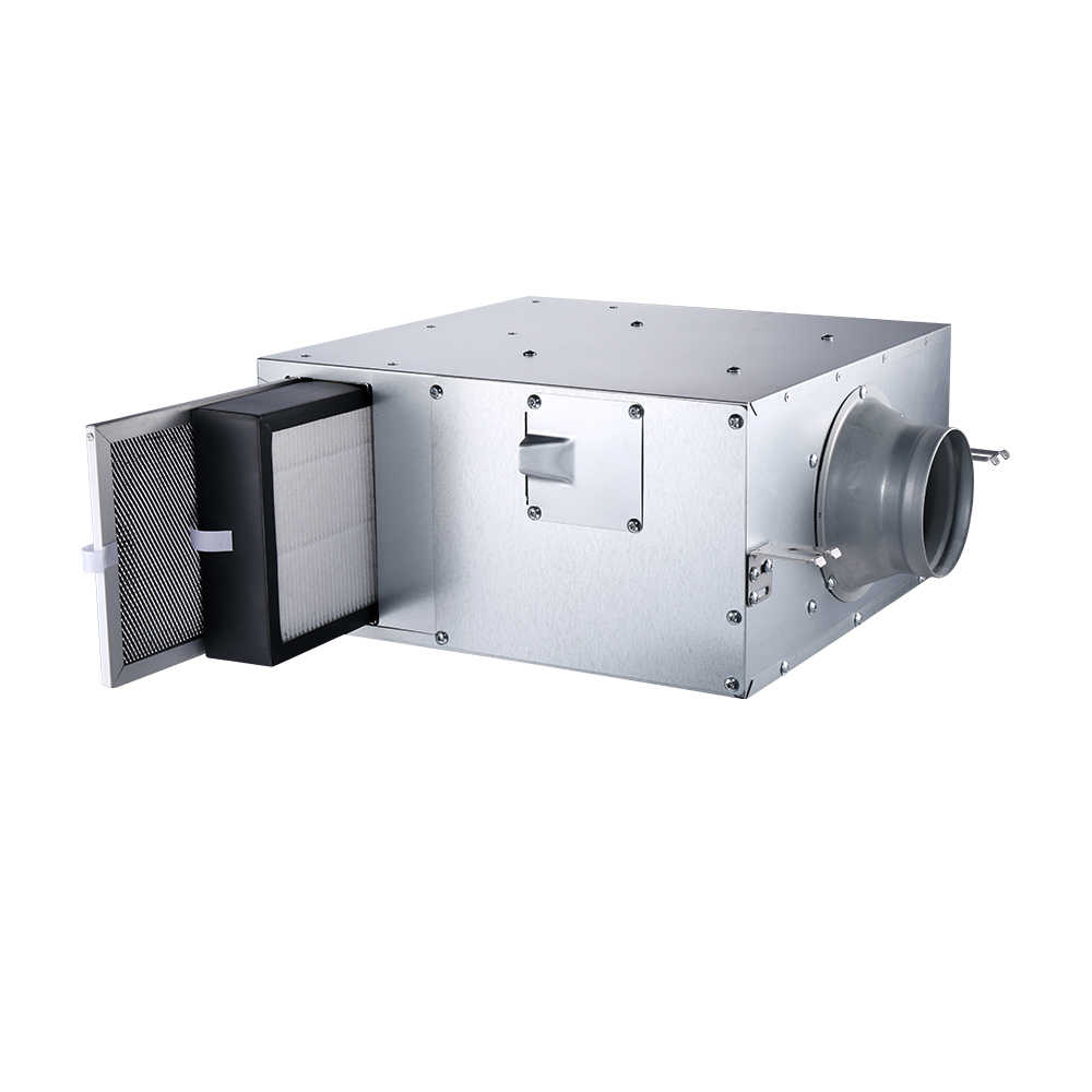 台達正壓PM2點5進氣管道扇VDB40AFXT-F