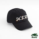 配件Roots- 楓葉刺繡棒球帽-黑