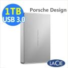 LaCie Porsche Design 1TB USB3.0 TypeC 2.5吋行動硬