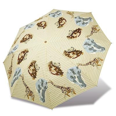 RAINSTORY 野生動物抗UV雙人自動傘(米)