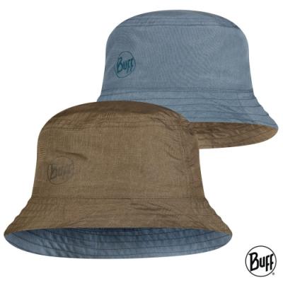 【西班牙BUFF】 可收納雙面漁夫帽-雨後草原 S/M&M/L