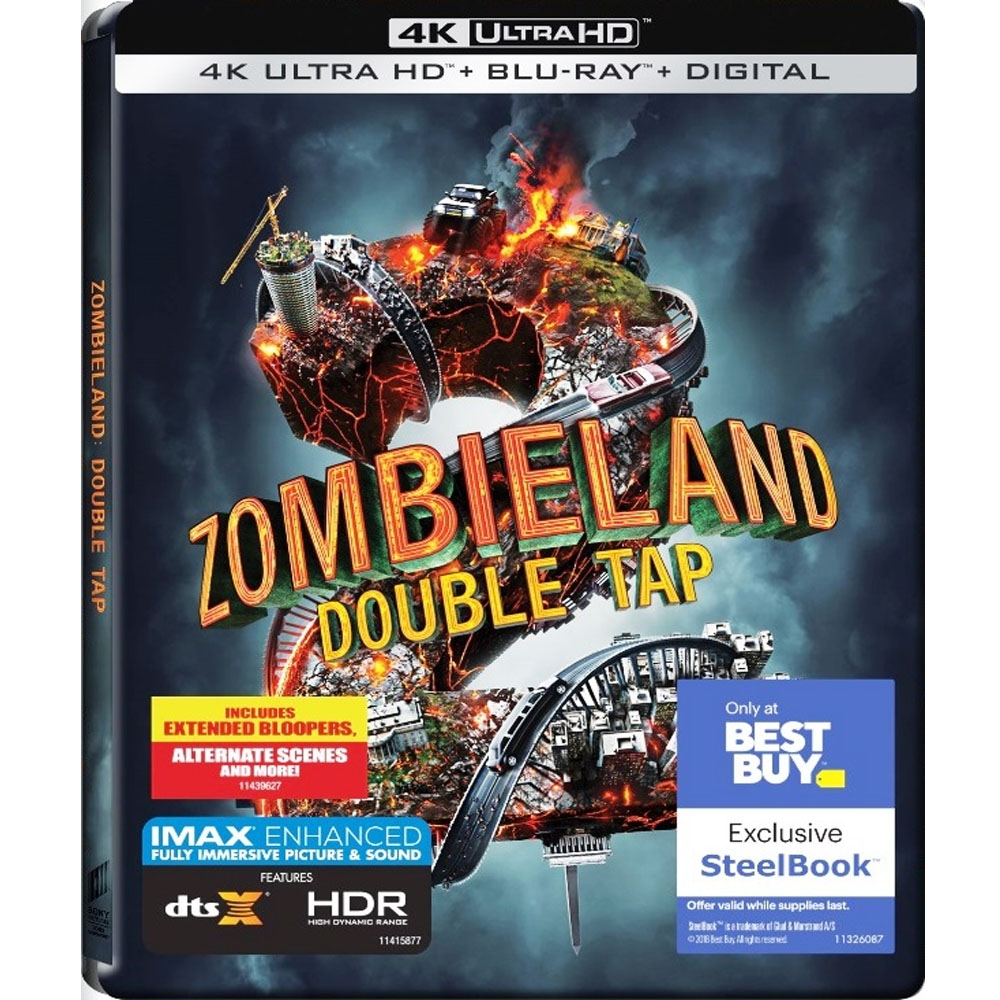 屍樂園:髒比雙拼 4K UHD+BD 雙碟鐵盒版