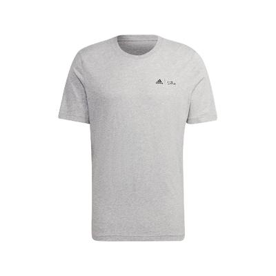 adidas T恤 Graphic Tee 辛普森家庭 男款 愛迪達 The Simpsons 打雪仗 灰 黑 GS6222