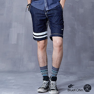 空 BLUE WAY 丹寧運動風格舒適短褲