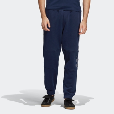 ADIDAS OUTLINE PANT 男長褲-藍-DH5791