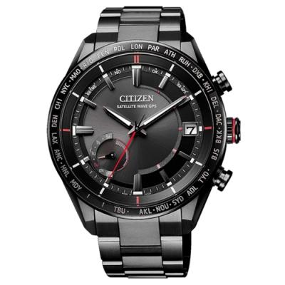CITIZEN 星辰ATTESA GPS衛星電波鈦金屬腕錶44mm(CC3085-51E)