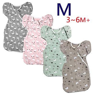 【小鹿蔓蔓】Bedtime嬰兒包巾睡袋(四款可選) M 3-6M+