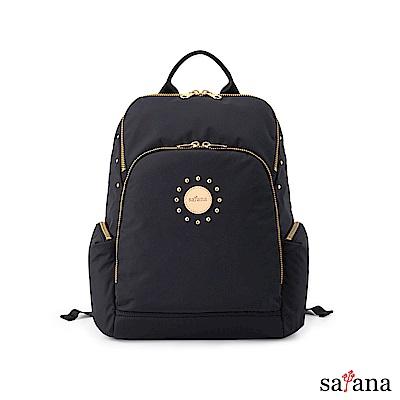 satana - POP 女孩魅力後背包 - 黑色