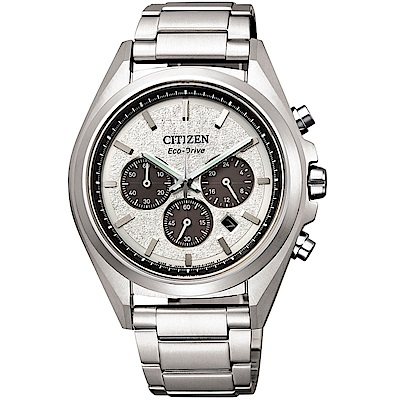 CITIZEN星辰 光動能超級鈦計時手錶(CA4390-55A)