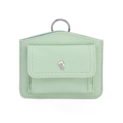 PORTER - 輕甜繽紛SPIRIT造型頸掛零錢包 - 百合綠(銀)
