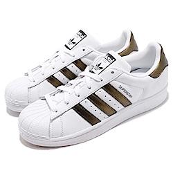 adidas 休閒鞋 Superstar 低筒 復古 女鞋