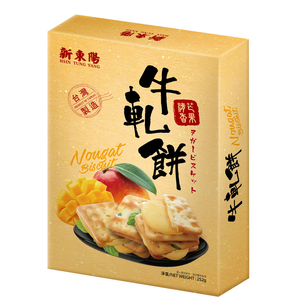 新東陽 牛軋餅-清香芒果252g