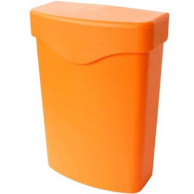 Sceltevie 夾式收納盒(橘L)