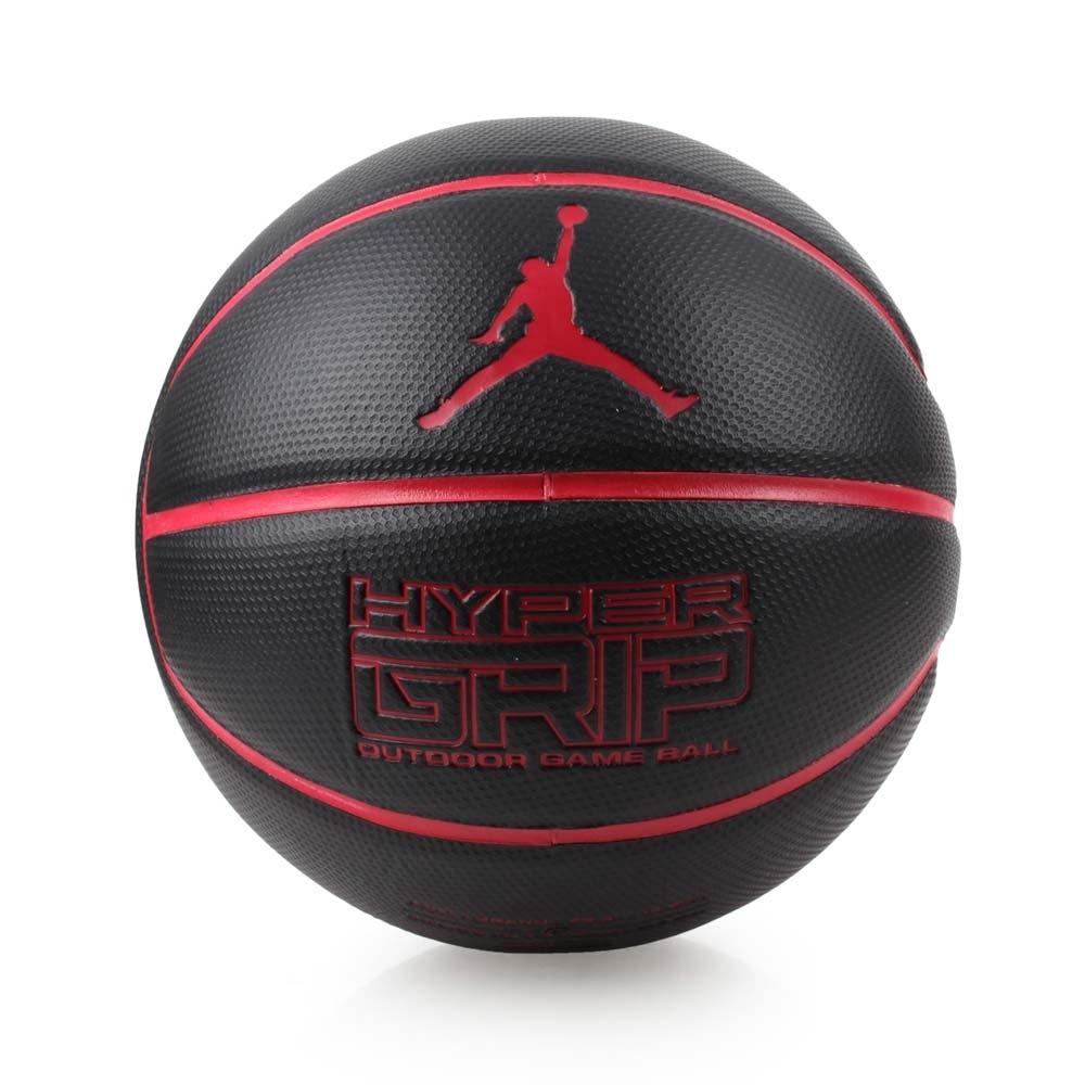 NIKE JORDAN HYPER GRIP 7號籃球 黑紅
