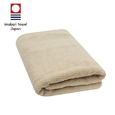 日本今治 輕柔蓬鬆無撚紗素色浴巾(摩卡咖)