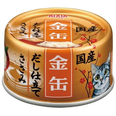 Aixia 愛喜雅-金缶9號高湯罐頭-雞肉口味(70gX24罐)