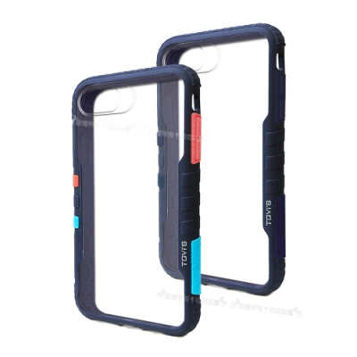 TGVi S 極勁2代 iPhone SE 2020/SE2 個性撞色防摔手機殼 保護殼 (午夜藍)