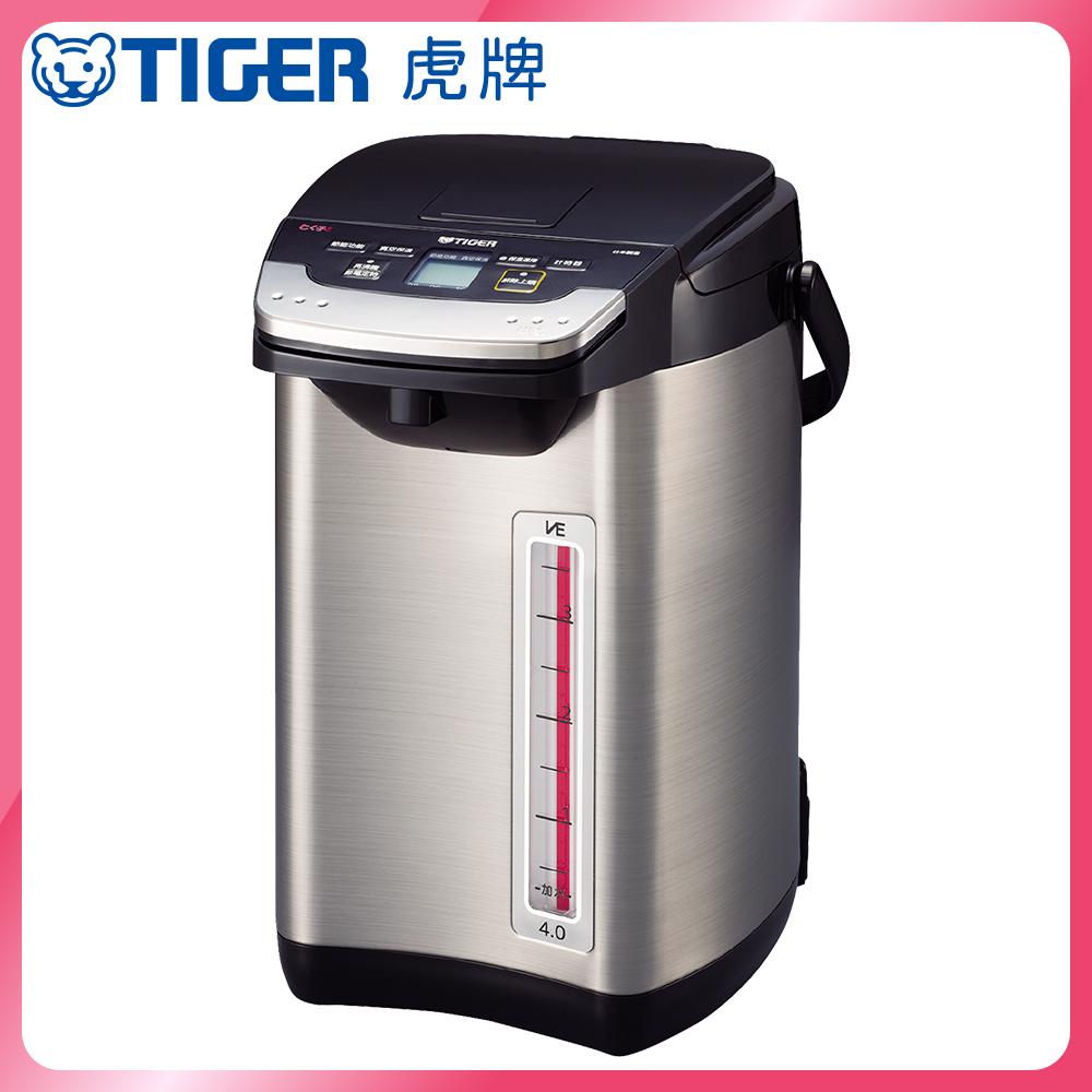 (日本製) TIGER虎牌VE節能省電4.0L真空熱水瓶(PIE-A40R)