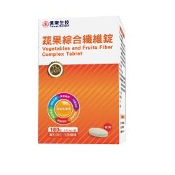 信東蔬果綜合纖維錠(180錠)