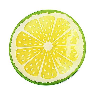 寵喵樂 趣味圓型水果造型涼墊