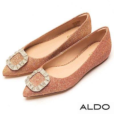 ALDO 原色佐造型水鑽內增高尖頭鞋~耀眼霓彩