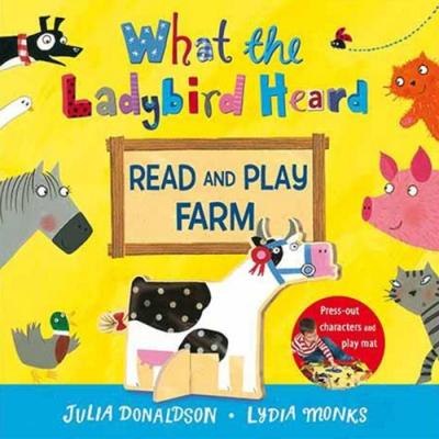 What The Ladybird Heard 小瓢蟲聽到了什麼?故事+玩樂兩用書