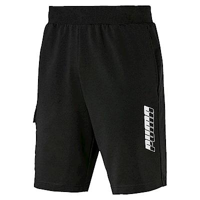 PUMA-男性基本系列Rebel 9吋短褲-黑色-亞規