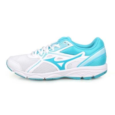 MIZUNO 女 慢跑鞋-WIDE MAXIMIZER 22 白水藍