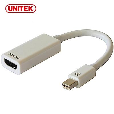UNITEK Mini DP轉HDMI轉換器(4K)