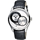MIDO Belluna II Gent 時分偏心機械腕錶-銀x黑/40mm M0244441603100 product thumbnail 1