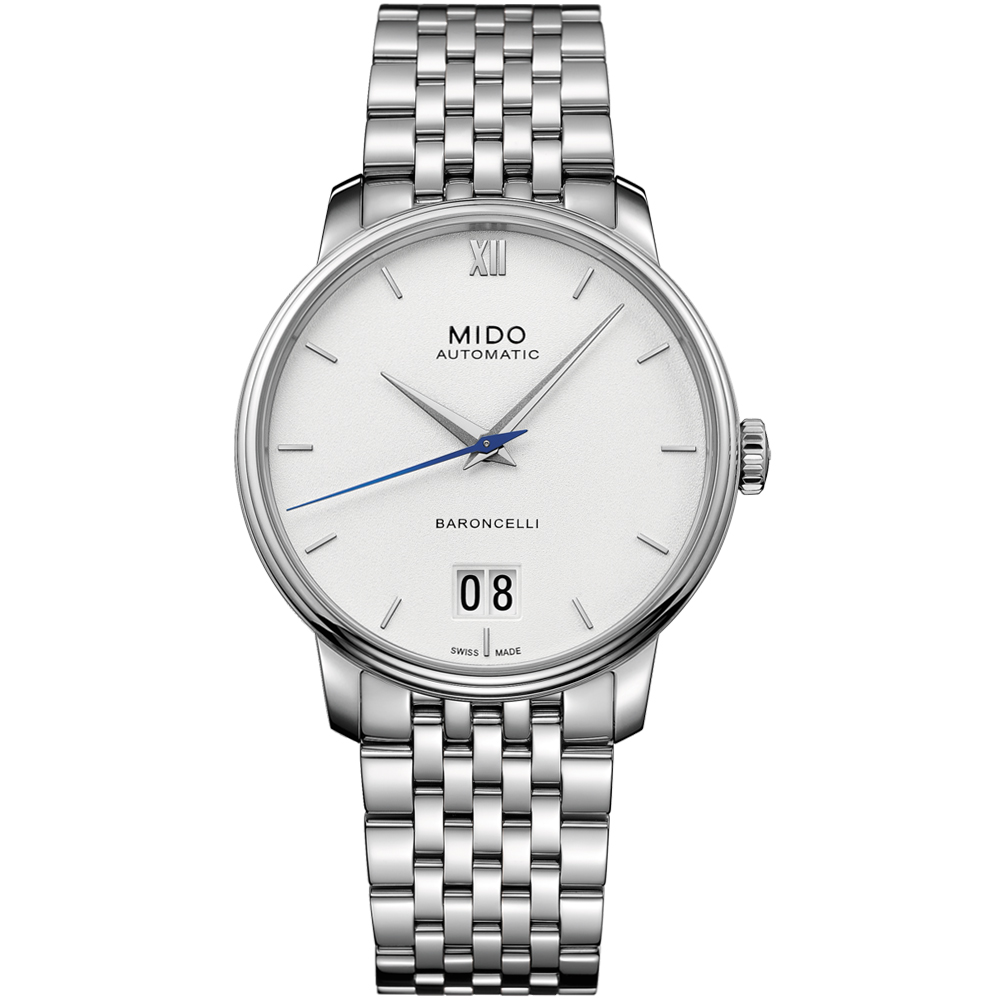 MIDO美度BARONCELLI永恆系列III經典機械腕錶(M0274261101800)