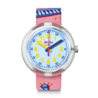 FlikFlak 兒童錶 POPINK 我是歌手-34.75mm