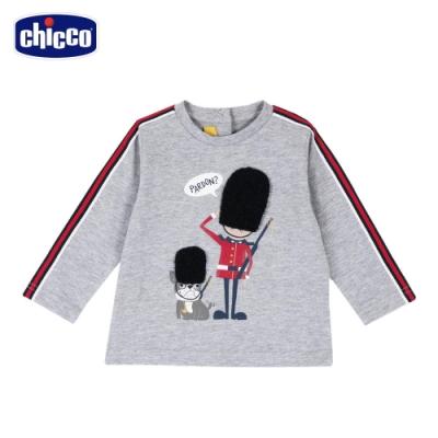 chicco- 英倫衛兵-織帶長袖上衣