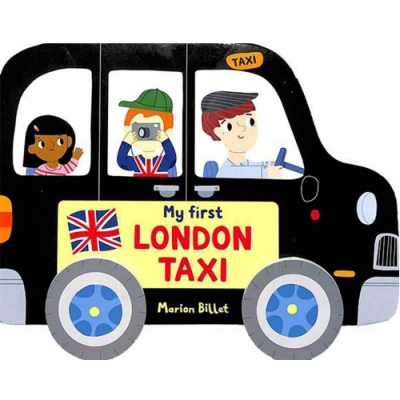 My First London Taxi 搭計程車遊倫敦輪子轉轉硬頁書