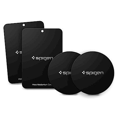 韓國Spigen Kuel A210 高品質手機金屬貼片(一組4入)