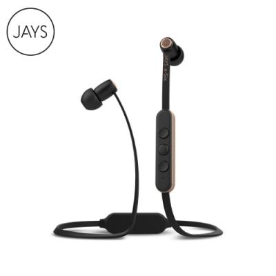 【JAYS】a-Six 無線藍芽耳機-黑金