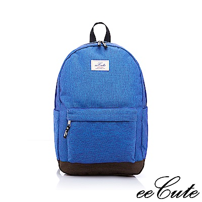 eeCute原色時尚後背包(運動藍)EEEP007-BU