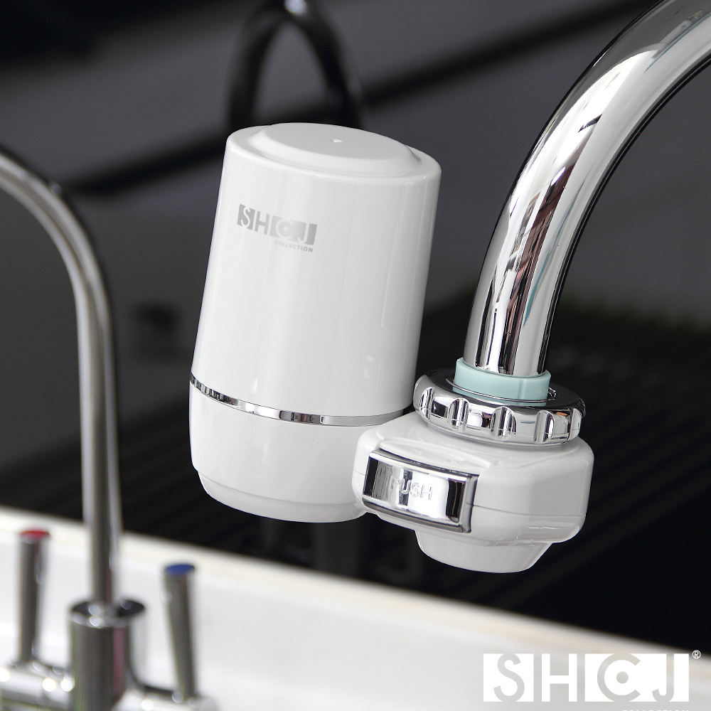 SHCJ生活采家 廚房水龍頭超濾中空絲膜淨水過濾器