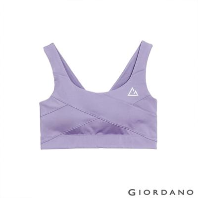 GIORDANO 女裝G-MOTION高支撐運動內衣 - 86 薄暮紫
