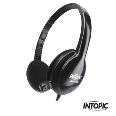 INTOPIC 廣鼎 頭戴式耳機麥克風(JAZZ-220)