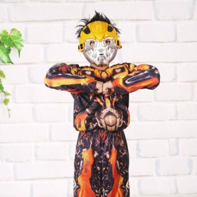 樂活e棧-萬聖節童裝系列-變形精剛Big黃蜂童裝(M/L)