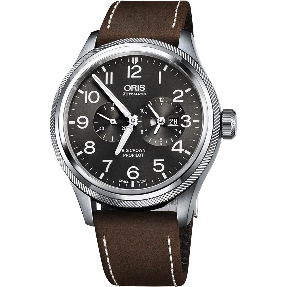 Oris 豪利時 Big Crwon ProPilot 世界時區機械錶-44.7mm