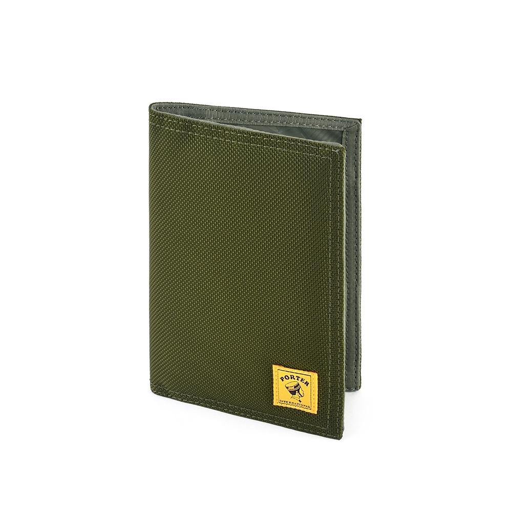 PORTER - 尼龍護照套 - 綠色