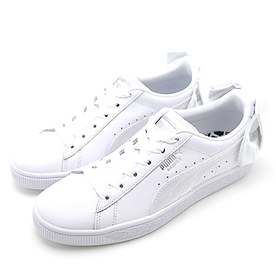 PUMA Basket Bow Wns 女休閒鞋 36731901 白色